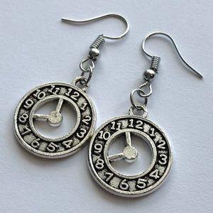 Jewelry - ⭕️Mix&Match SALES Cute Handmade Clock Earrings